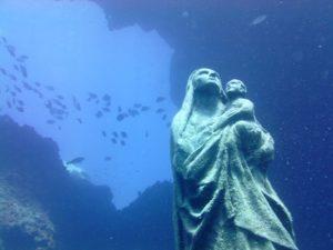 lampedusa madonna subacquea